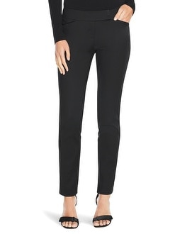 Curvy Perfect Form Tux Ankle Pants