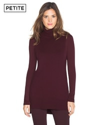 Petite Turtleneck Tabard Sweater