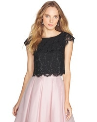Scalloped Lace Crop Bodice