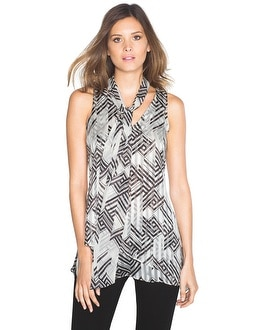 Shadow Stripe Tunic