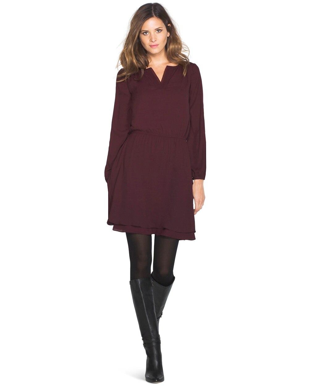 Layered Skirt Dress