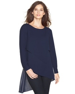 Asymmetric Layered Tunic