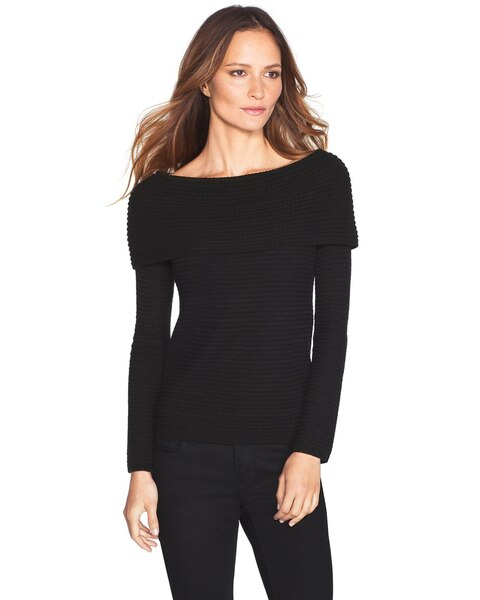 Off-The-Shoulder Sweater - WHBM