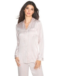 Stripe Pajama Top