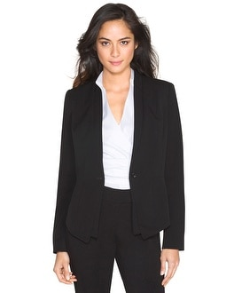 Double-Lapel Seasonless Blazer