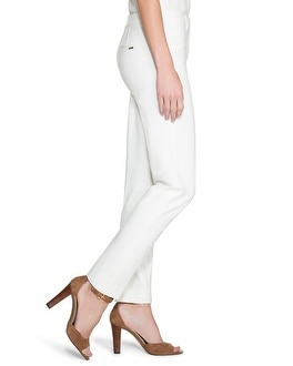 City Knit Ponte Ankle Pants