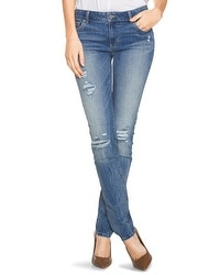Saint Honore Distressed Slim Jeans