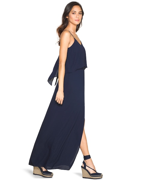 3abe7e7e821 Return to thumbnail image selection Flounce Maxi Dress