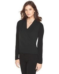 Double-Layer Surplice Top