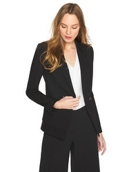 Two-Button Ponte Blazer