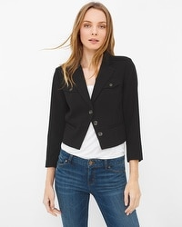 Bracelet Sleeve Crop Jacket