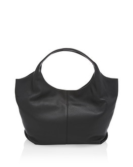 Pebbled Leather Hobo