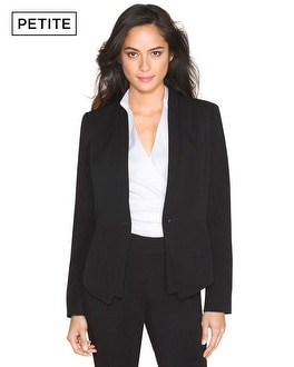 Petite Double-Lapel Seasonless Jacket