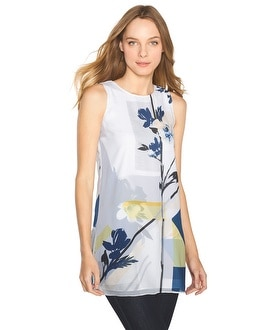 Watercolor-Floral Tunic