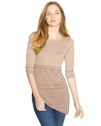 Colorblock Asymmetric Pullover
