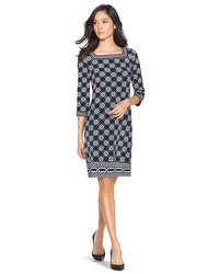 Linked Geo Pattern Dress