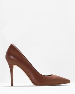 Olivia Leather Pumps