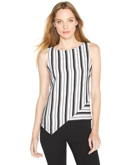 Stripe Asymmetric Shell