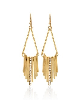 Bar Drop Chandelier Earrings