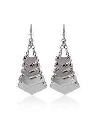 Angular Chandelier Drop Earrings