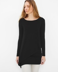 Long Sleeve Asymmetric Tunic