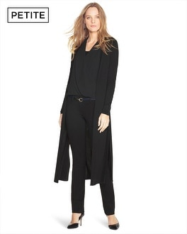 Petite Long Sleeve Duster