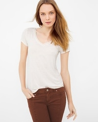 Soft Touch V-Neck Tee