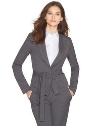 Seasonless Belted Blazer