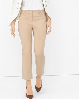 Curvy Perfect Form Straight Crop Pants