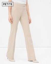 Petite Bootcut Suiting Pants