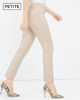 Petite Slim Ankle Suiting Pants