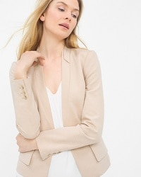 Layered Lapel Blazer