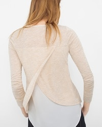 Split-Back Layering Tee