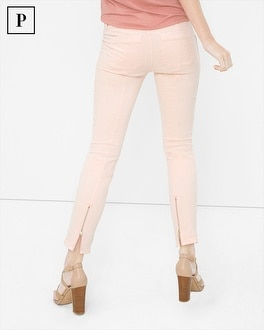 Petite Twill Skimmer Jeans