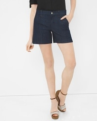 Saint Honore Denim Trouser Shorts