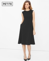 Petite Bateau Fit-and-Flare Dress