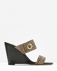 Slide Wedge Sandals