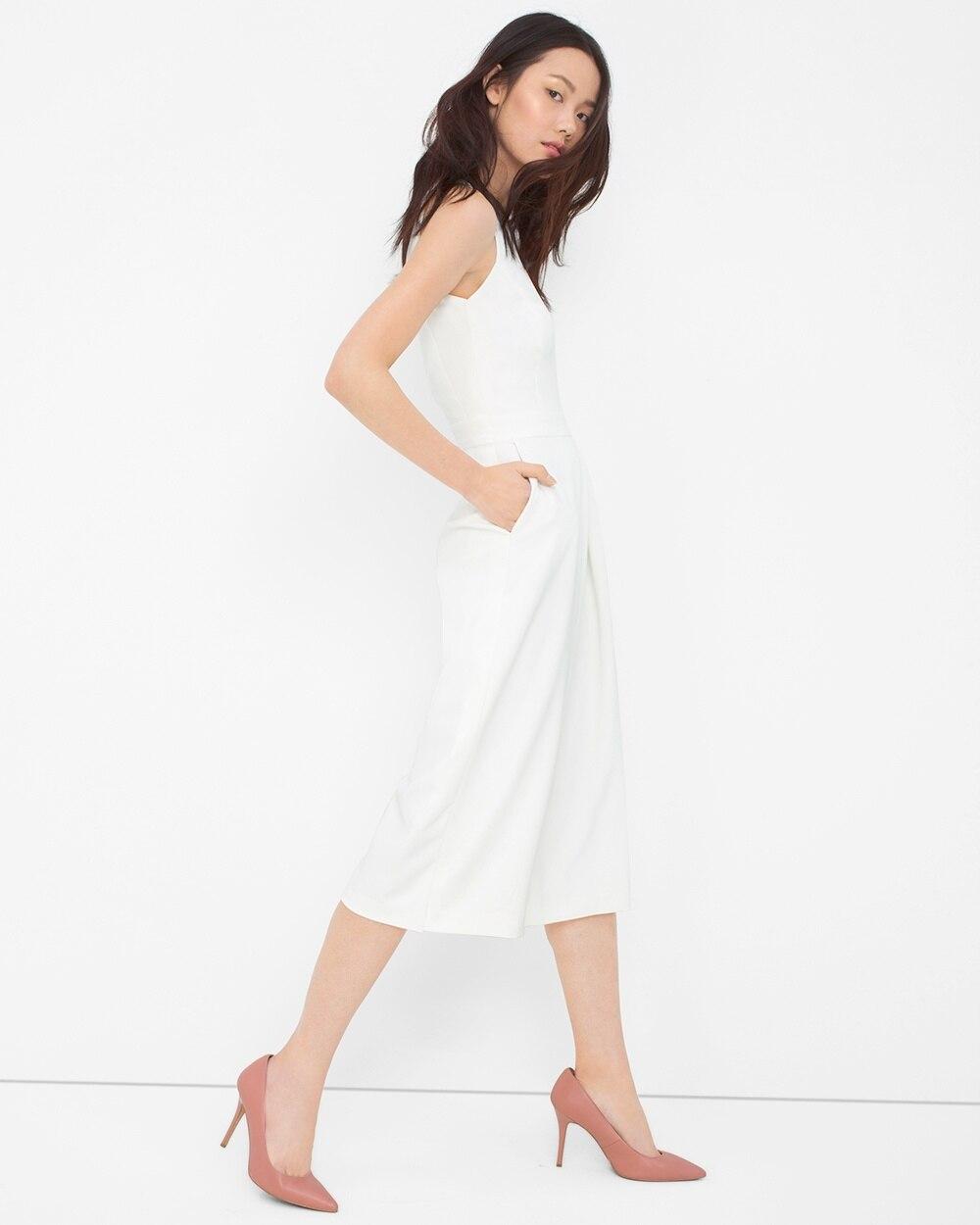 Culotte Jumpsuit - White House Black Market