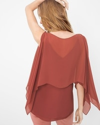 Convertible Layered Blouse
