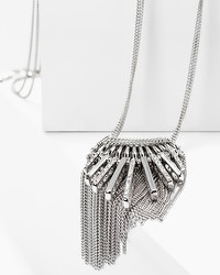 Stick Fringe Long Pendant Necklace