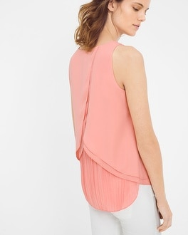 Pleat Back Shell