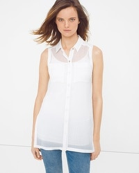 Sheer Tunic Shirt