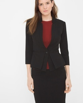 Seasonless Peplum Jacket