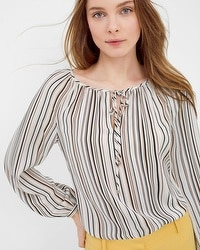 Soft Striped Blouse