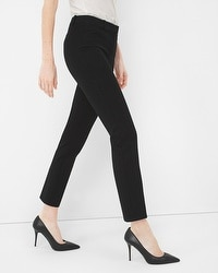 Twill Slim Crop Pants