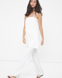 Strapless Tunic Jumpsuit