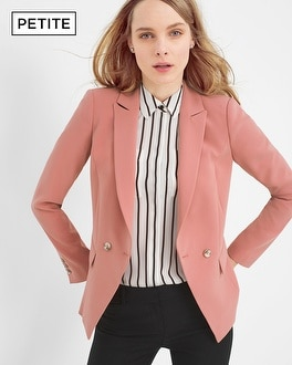 Petite Double-Breasted Blazer