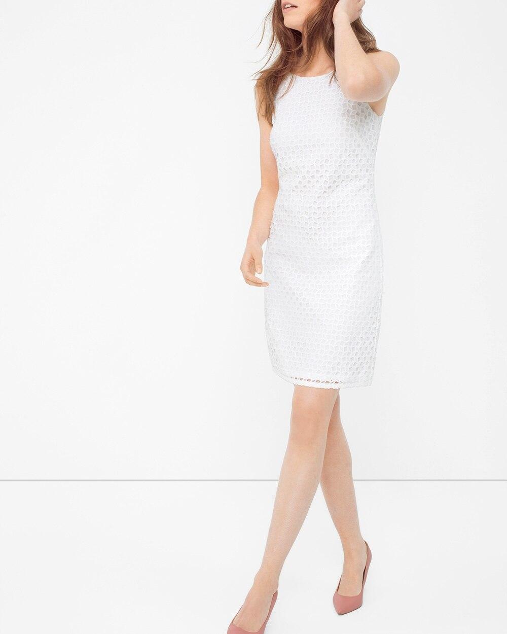 Lace Halter Sheath Dress - White House Black Market 7d2d857a5