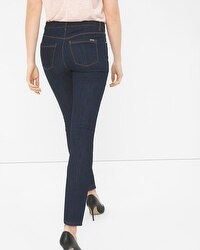 High-Rise Skimmer Jeans