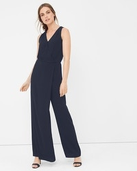 Surplice Wrap Jumpsuit